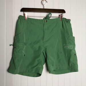 Life is good women's green swim trunks